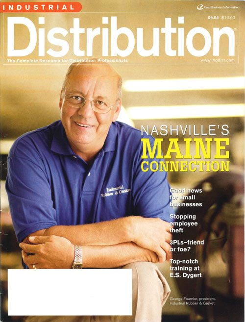 The Maine Man in Nashville — Industrial Distribution — By Jack Keough, Editor — 9/1/2004